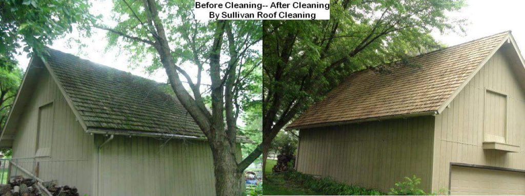 Cedar Shake Roof Cleaning