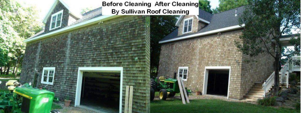 Cedar Shake Roof Cleaning