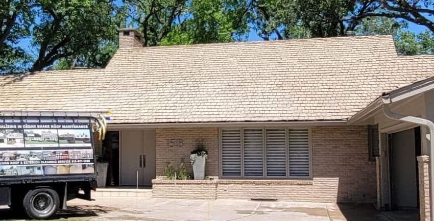 Can I Walk on a Cedar Shake Roof?